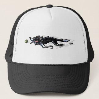 Border Collie in Action Trucker Hat