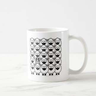 Border Collie in the Sheep Coffee Mug