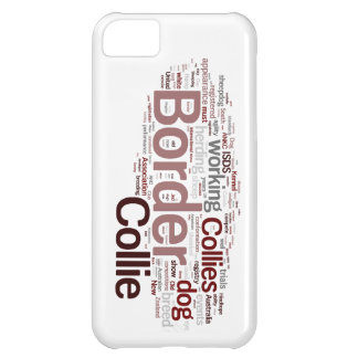 Border Collie iphone 5 Barely There Case Case For iPhone 5C