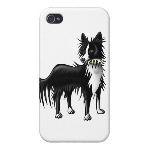 Border Collie iPhone 4 Cover