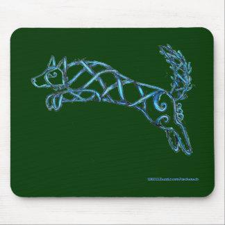 Border Collie Knot, Mousepad