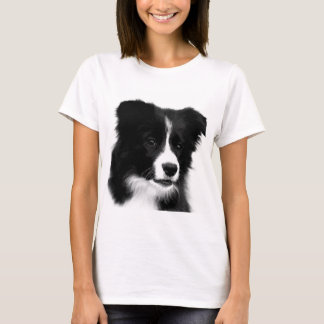 Border Collie Ladies Basic T-Shirt
