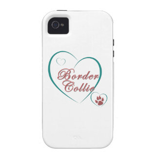 Border Collie Love Case-Mate iPhone 4 Case