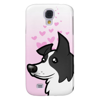 Border Collie Love Galaxy S4 Case