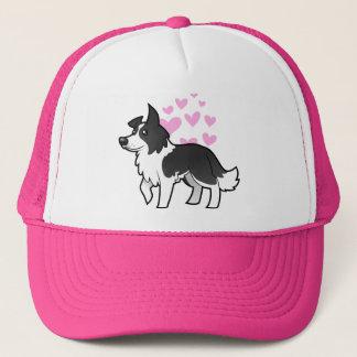 Border Collie Love Trucker Hat