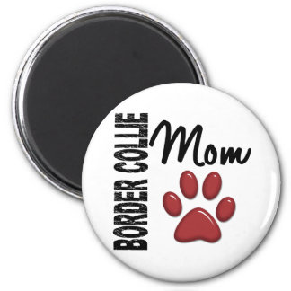 Border Collie Mom 2 Magnet