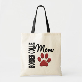 Border Collie Mom 2 Tote Bag