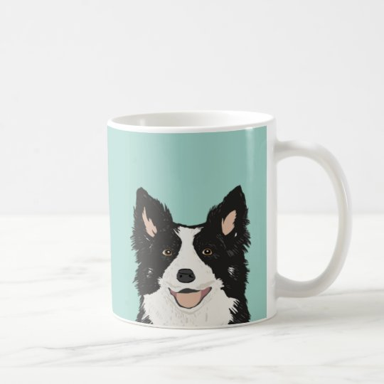 Border Collie Mug - Cute dog gift for
