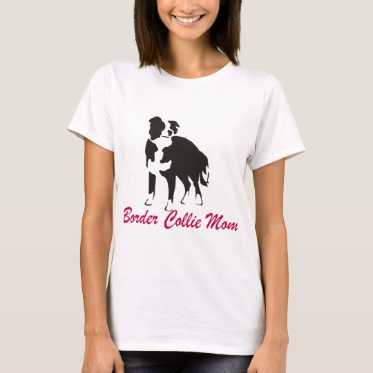 Border Collie Mum T-Shirt