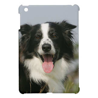 Border Collie Panting Headshot 1 iPad Mini Cases