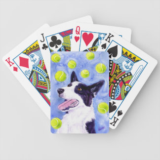 "Border Collie Playing Cards - ""Magpie's Gold"""
