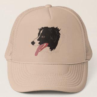 Border Collie Portrait Hat