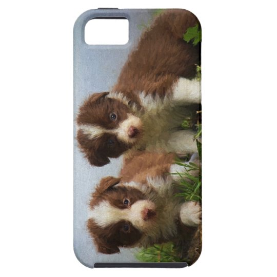 Border Collie Puppies iPhone 5 Covers
