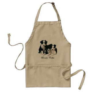 Border Collie Puppies Standard Apron