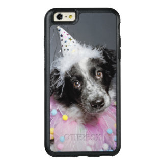 Border Collie Puppy Wearing Hat OtterBox iPhone 6/6s Plus Case