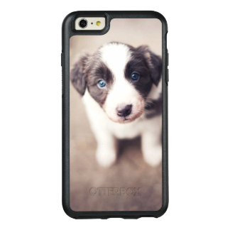 Border Collie Puppy With Blue Eyes OtterBox iPhone 6/6s Plus Case