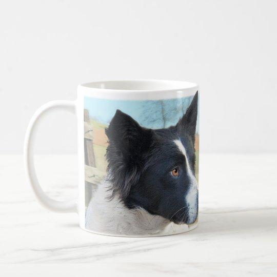 Border Collie Ranch Dog Coffee Mug