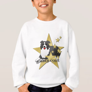 Border Collie Stars Sweatshirt