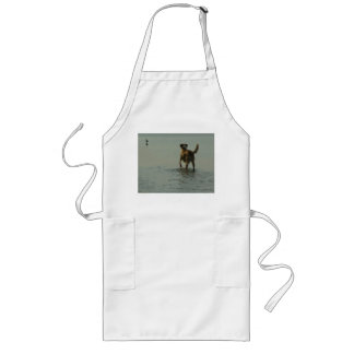 Border Collie - Tipper and Seagull Long Apron