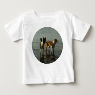 Border Collie - Tipper/Dixie at Sea Baby T-Shirt