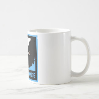 border collie watching you ewe coffee mug
