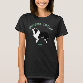 Border Collie Women's T-shirt (Dark Colors)