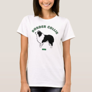 Border Collie Women's T-shirt (White)