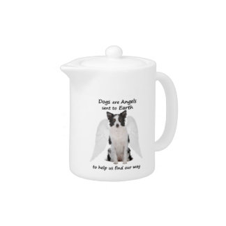 Border Collies Are Angels Teapot