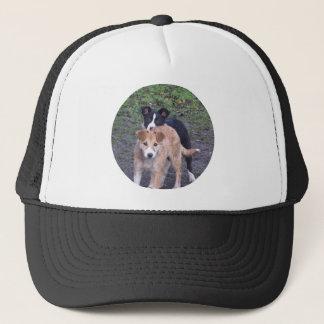 - Border Collies - Tipper/Dixie pups Trucker Hat