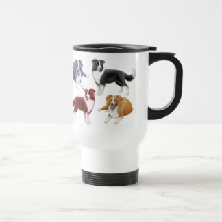 Border Collies Travel Mug