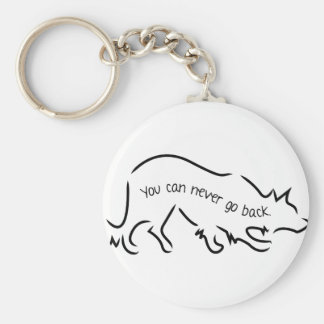 Border Collies - You Can Never Go Back Key Ring