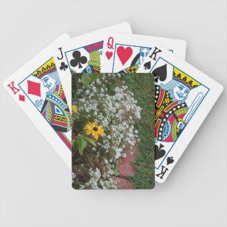 border flowers Zaz JPG Bicycle Card Decks