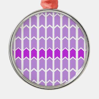Border Lavender Panel Fence Silver-Colored Round Decoration