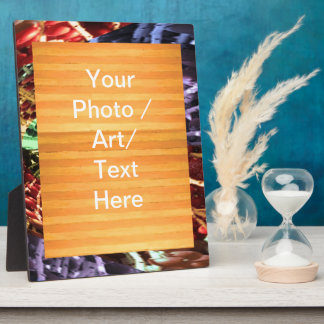 Border n Graphic - Buy as decoration or add photo Plaque