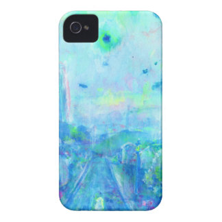 Border of rain iPhone 4 cover