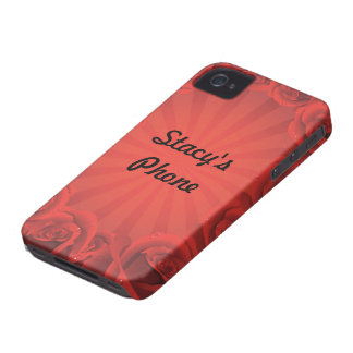 Border of Roses iphone case