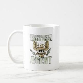 Border Patrol Agent Faded.png Basic White Mug