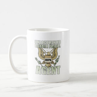 Border Patrol Agent Faded.png Classic White Coffee Mug