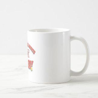Border patrol agents job designs coffee mug