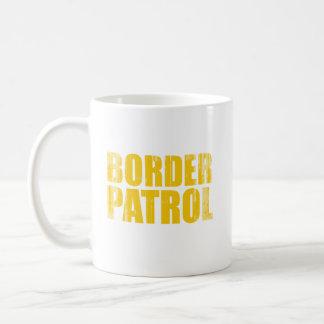 Border Patrol Faded.png Basic White Mug