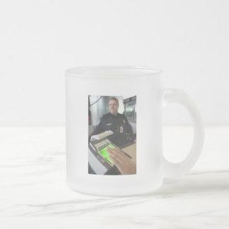 Border Patrol Frosted Glass Mug