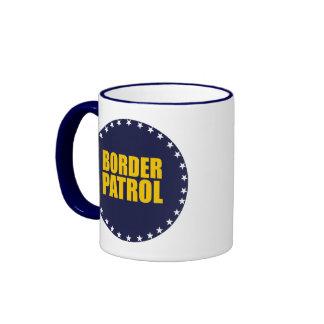 Border Patrol Ringer Coffee Mug