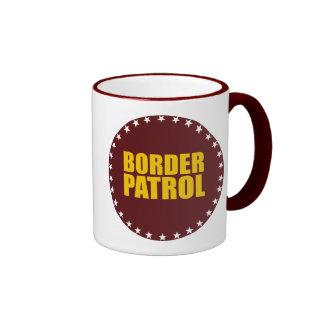 Border Patrol Ringer Mug