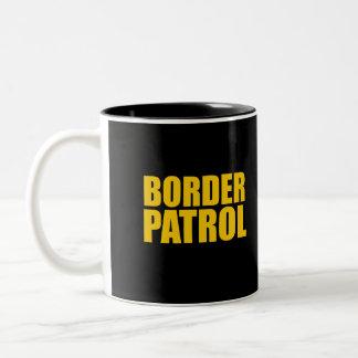 Border Patrol Two-Tone Mug