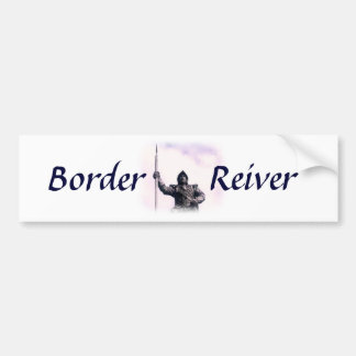 Border Reiver Bumper Sticker