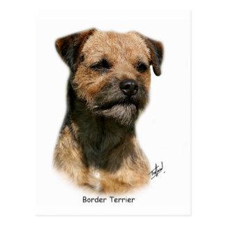 Border Terrier 9Y325D-046-2 Postcard