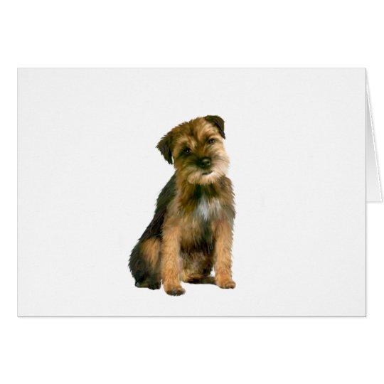 Border terrier (B) Card