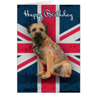 Border Terrier Birthday Greeting Card