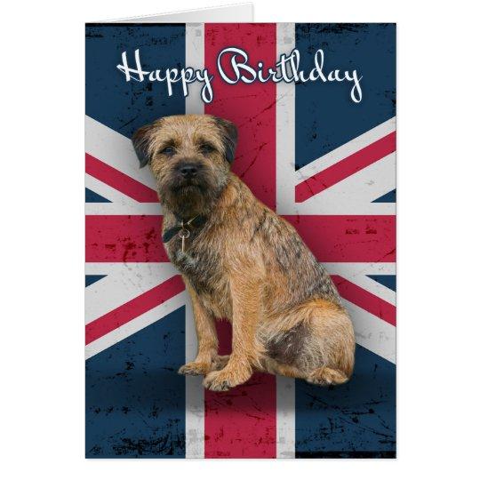 Border Terrier Birthday Greeting Card