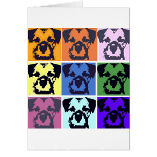 Border Terrier Card
